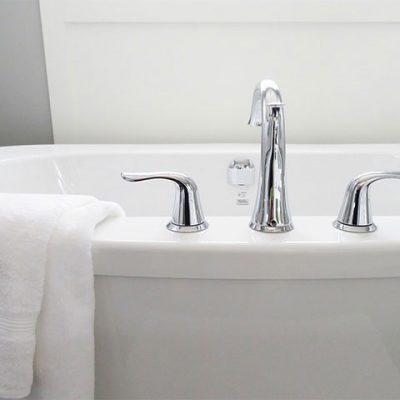 Huddersfield handmade curtains interior designer bath tub